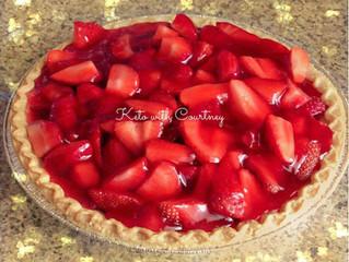 Court's Skinny Strawberry Pie©