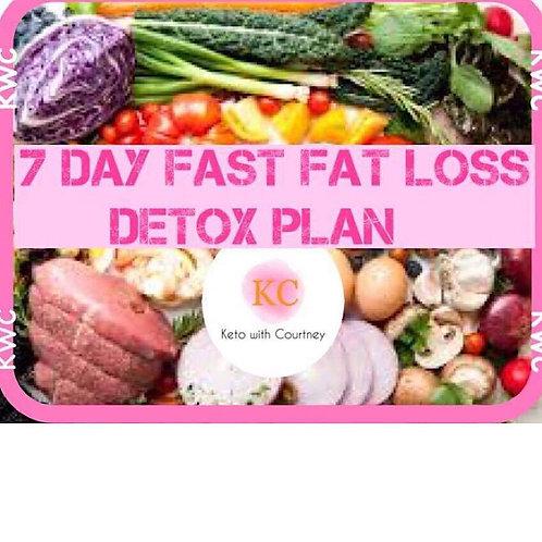 7-Day Fast Fat Loss Detox Plan