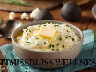 Courtney's Mashed Cauliflower {BLISSful Recipe}