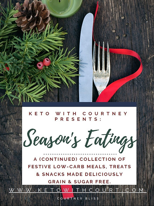 """Seaon's Eatings"" Holiday Cookbook 2020"