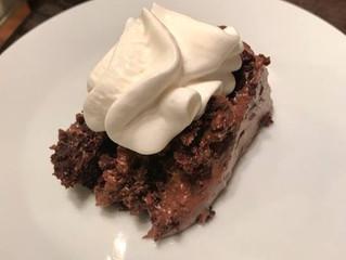 {BLISSful Recipe} Peanut Butter Cup Fudge Cake
