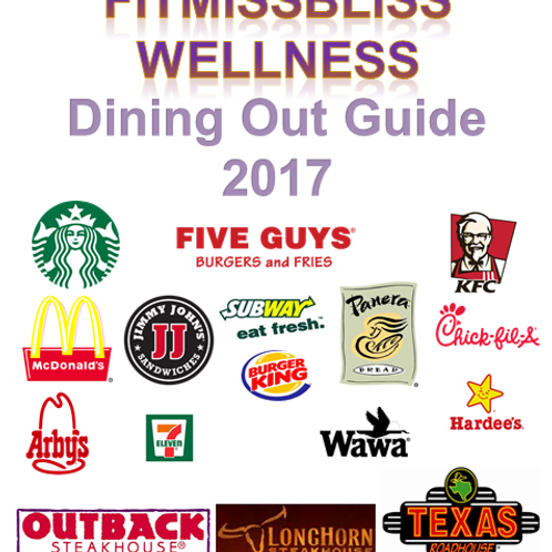 FMBW DINING OUT GUIDE & BONUS! 7 DAY KETO-ON-THE GO MEAL PLAN