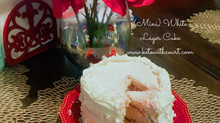 Court's (Mini) White Layer Cake with Raspberry Filling & Buttercream Frosting