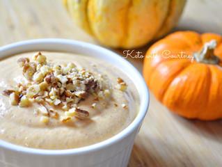 Pumpkin-Pecan Cheesecake Bowl