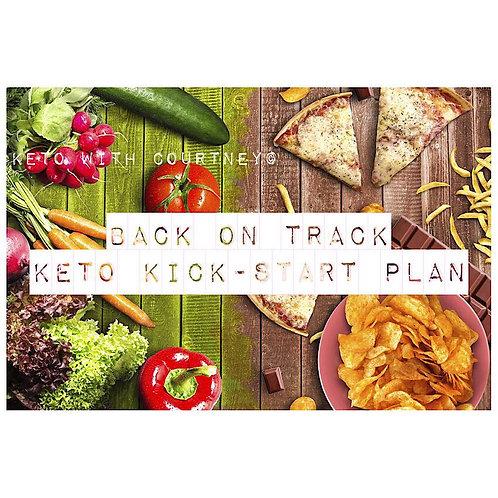 """Back on Track"" Keto Kick-Start Plan!"