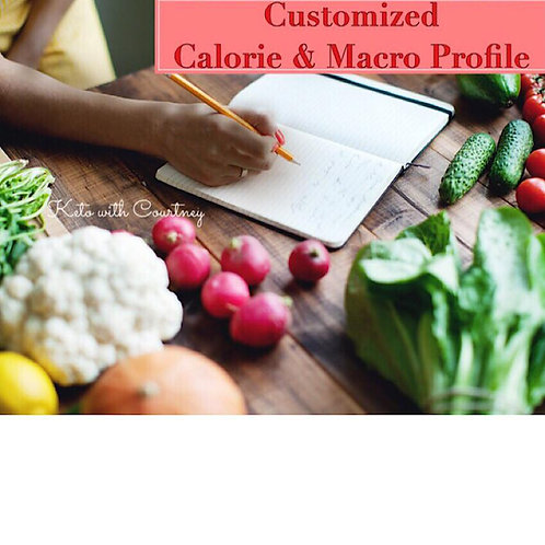 Customized Calorie and Macronutrient Profile