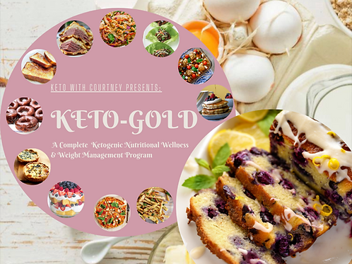 KWC Keto-Gold© 3-Month Membership (January-March 2021)