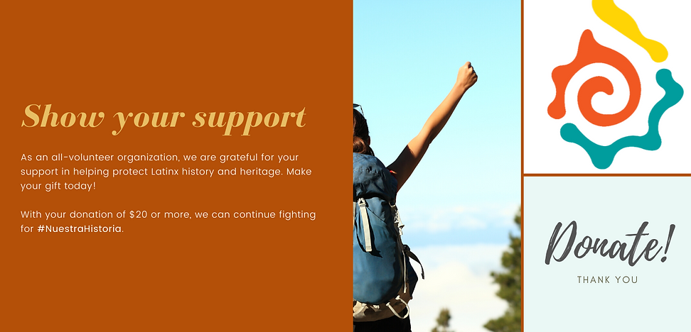 Donate Page Canva Orange and Yellow Mode