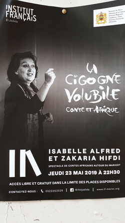 isabelle conte maroc