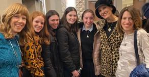 Rebbetzin Yemima Mizrachi with WITS students