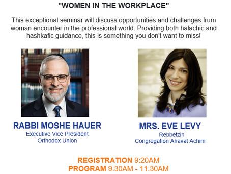 Women in the Workplace Seminar