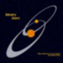 binary stars orbit galaxy