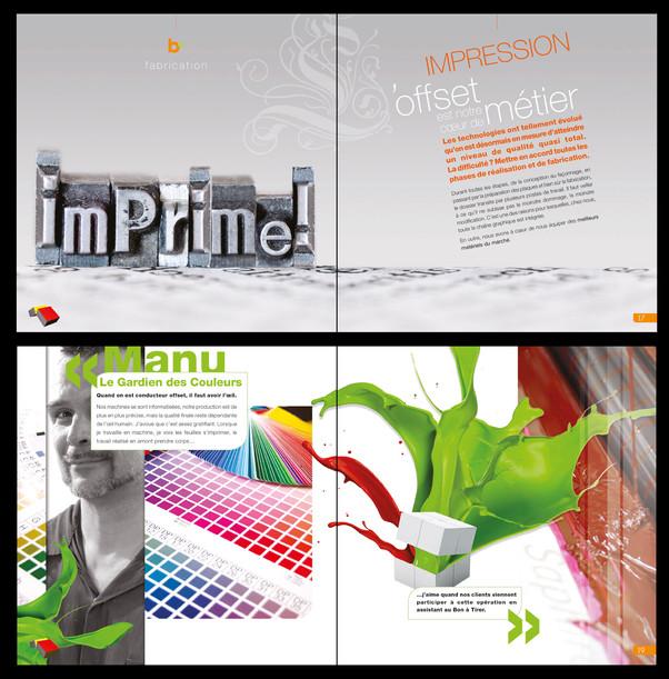 Brochure imprimeur