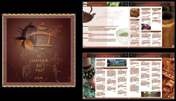 catalogue de thés