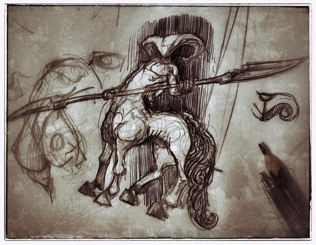 sirblondin_Sebastien Tonin_petit centaur