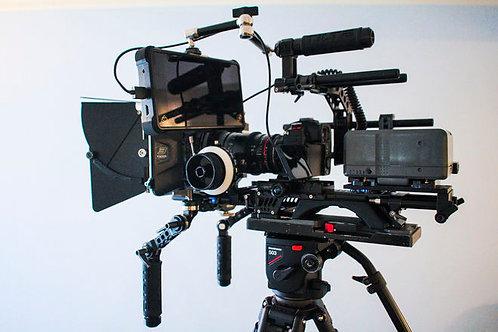 Panasonic Lumix GH5s digital cinema fully rigged