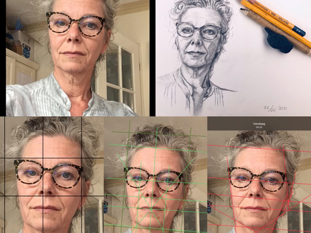 Portret opzetten