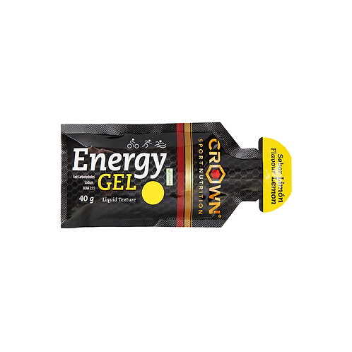 Crown Sport Nutrition Lemon Energy Gel - 40g
