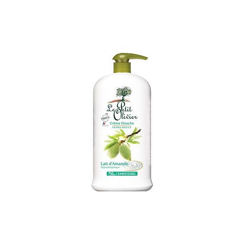 Le Petit Olivier - Shower Cream Almond Milk - 750 ml