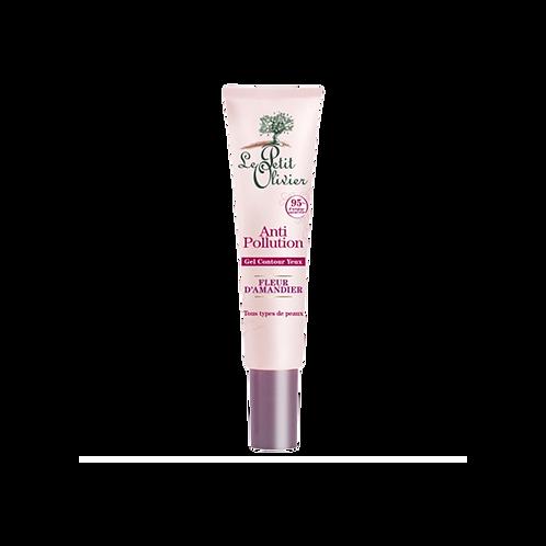 Le Petit Olivier - Eye Conour Gel Anti-pollution - Almond Blossom - 15ml