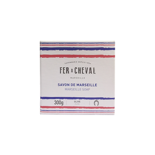 Fer a Cheval French Touch Olive Marseille Soap Cube  300g
