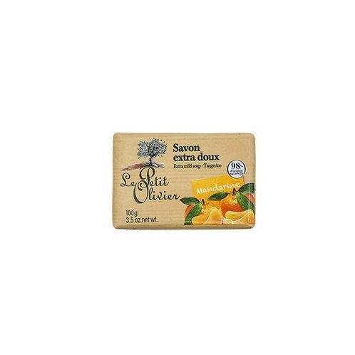 Le Petit Olivier - Tangerin Extra Mild Soap Bars 100g