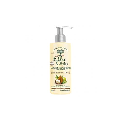 Olive, Shea, Argan Oils No-Rinse Hair Care Cream - Dry & Damaged Hair - 200 ml