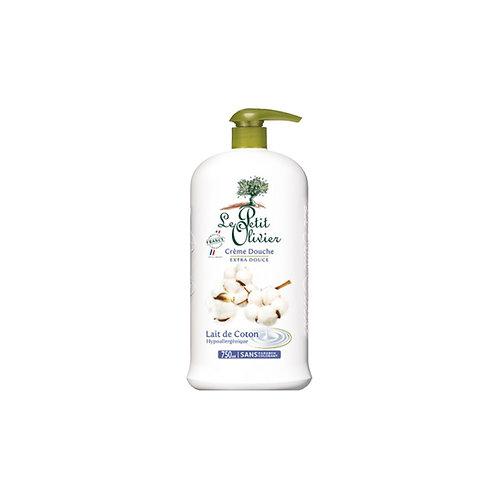 Le Petit Olivier - Shower Cream Cotton Milk - 750 ml