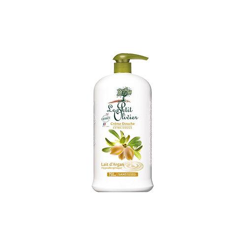 Le Petit Olivier - Shower Cream Argan milk - 750 ml