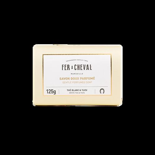 Fer à Cheval - Gentle Perfumed Soap White Tea & Yuzu - 125g