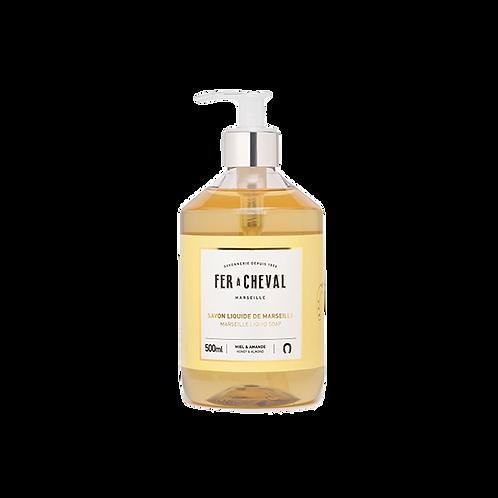 Fer à Cheval - Marseille Liquid Soap Honey & Almond - 500ml