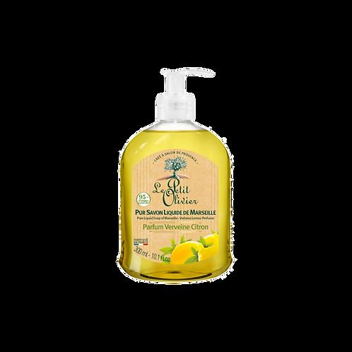 Le Petit Olivier - Pure liquid soap of Marseille Verbena Lemon Perfume - 300 ml