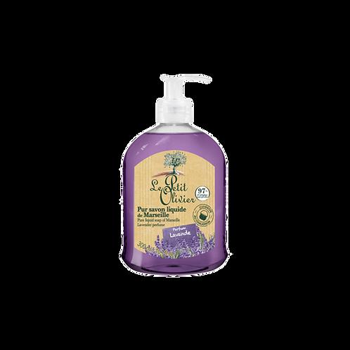 Le Petit Olivier - Pure liquid soap of Marseille Lavender perfume - 300 ml