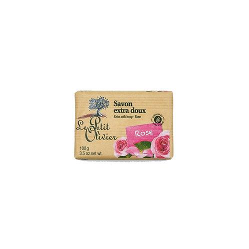 Le Petit Olivier - Rose Extra Mild Soap Bars 100g