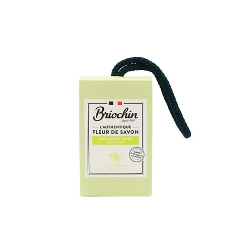 Briochin FLEUR DE SAVON Milk and Verbena Soap Bar - 200g