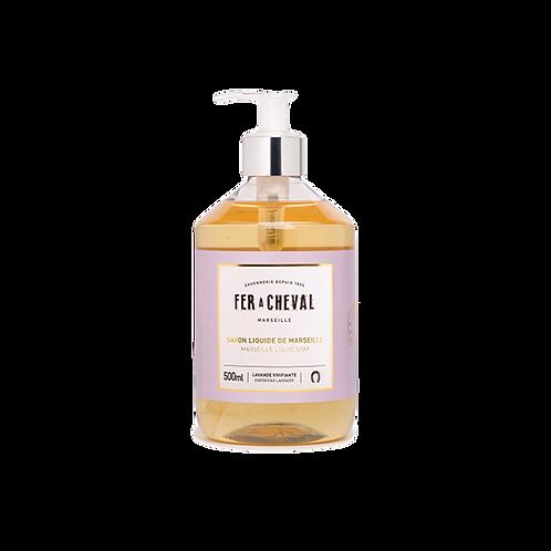 Fer à Cheval - Marseille Liquid Soap Energising Lavender - 500ml