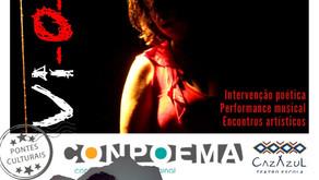 """Projeto """"Pontes Culturais"""" encerra com performances de artistas conquistenses e paulistas"""