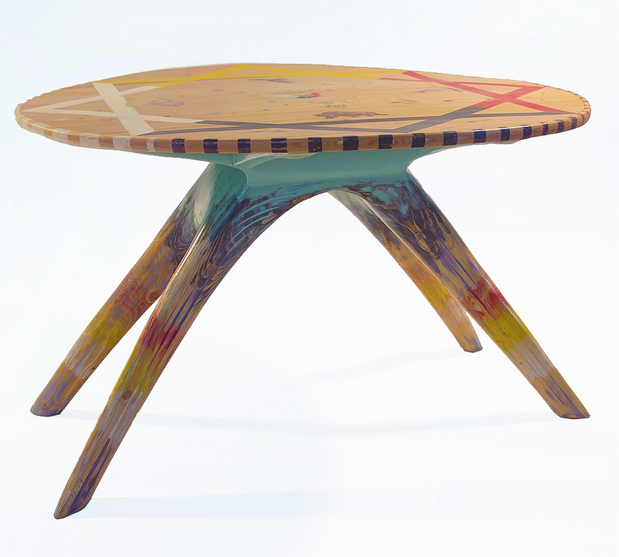 MEDICINE WHEEL TABLE
