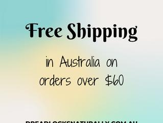 FREE SHIPPING in Australia!