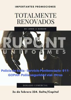 RUPONT - Uniformes
