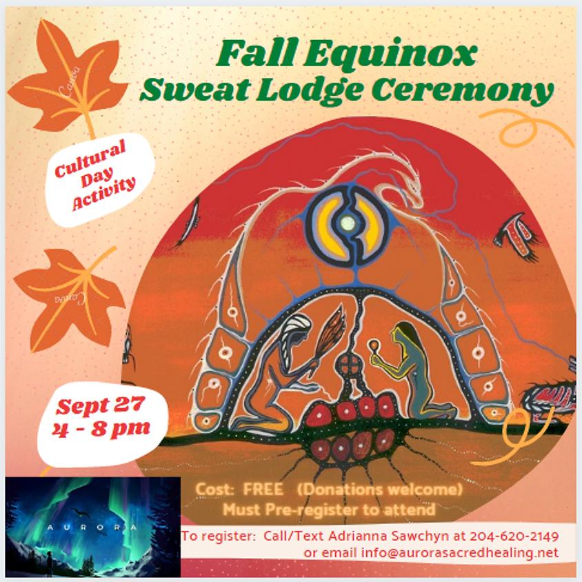 Fall Sweat Lodge Ceremony
