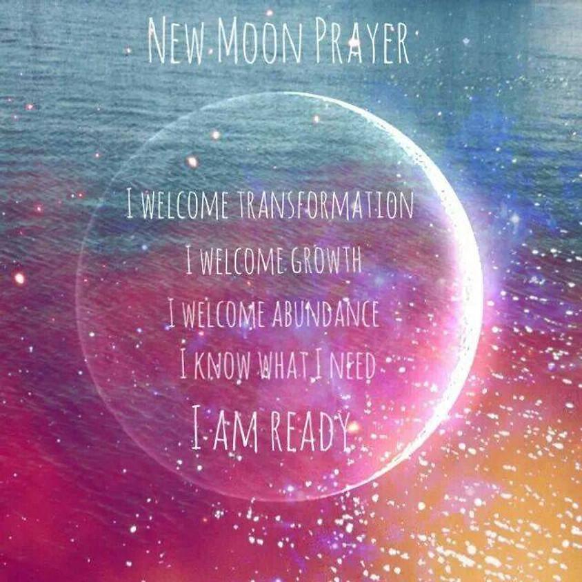 New Moon Fire Circle