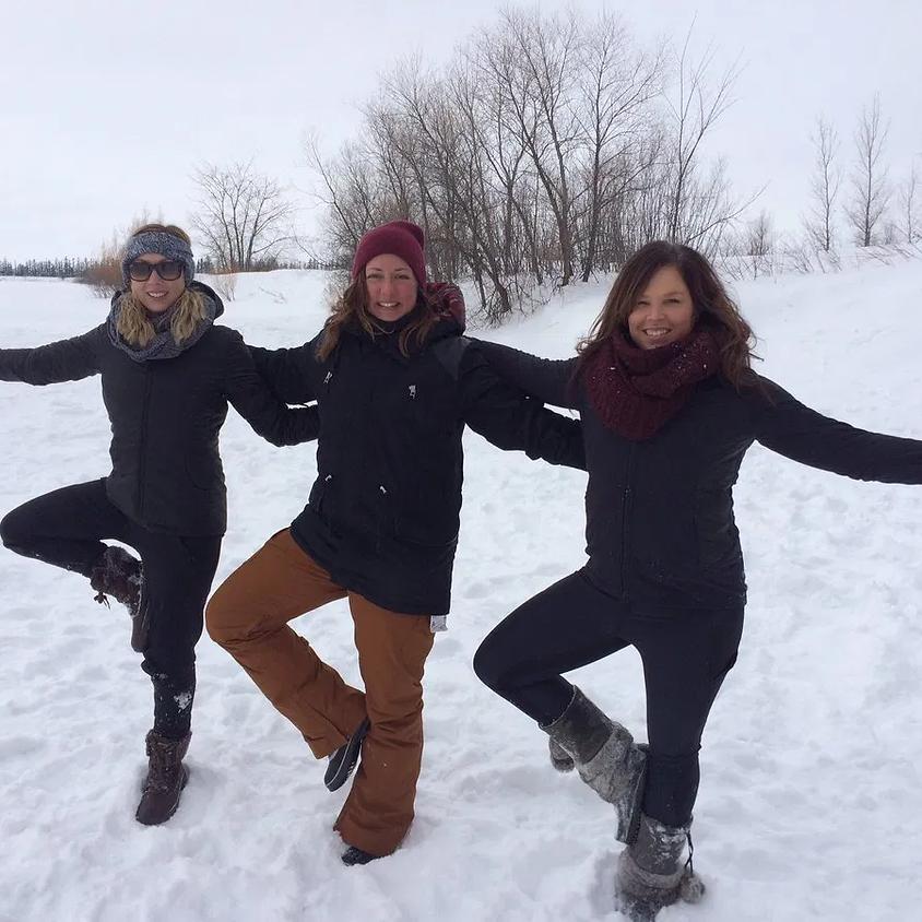 Ice Fishing and Yoga
