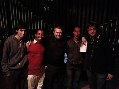 Some of my viola students here in Brazil
