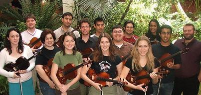 My viola studio at the University of Flo