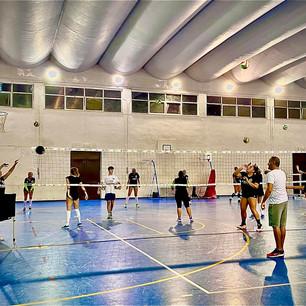 Preparazione atletica a Labaro, con la speranza di tornare a Santa Lucia