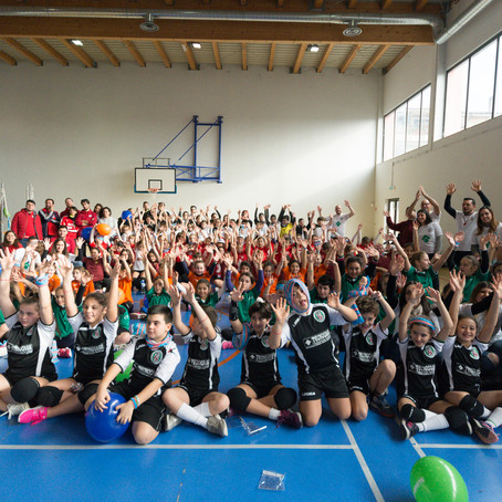 "FIPAV ROMA: ""ICS Volley Santa Lucia: entusiasmo e grande partecipazione all'evento di Volley S3"""