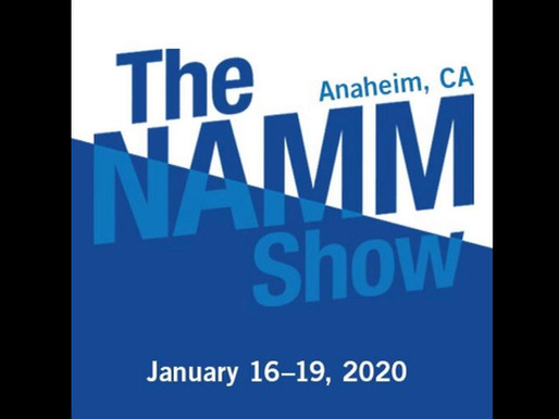 Check out the ASM Booth @ NAMM 16-19 Janurary 2020