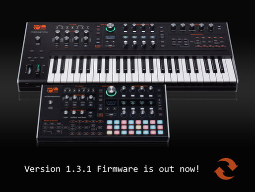 Version 1.3.1 Firmware Update Is Now Available