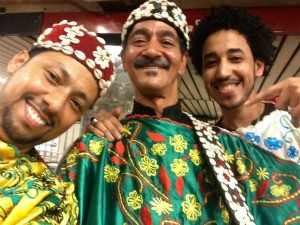 Moroccan Musicians InnoVe Gnawa